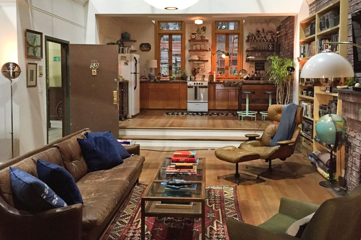 Dev's Retro-Inspired IKEA-Free NYC Walk-Up, from Master of None