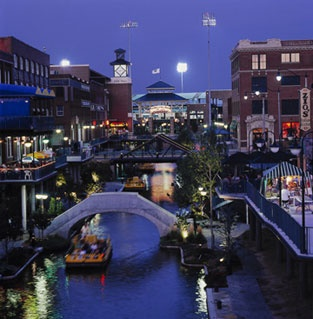 Like San Antonio And Other Cities Oklahoma City Has A Cool Riverwalk Area Called Bricktown Lots Of Great Restaurants There I Love