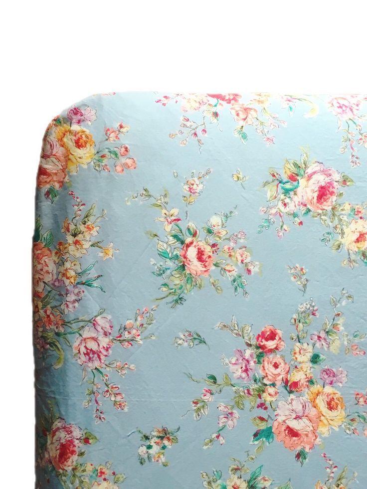 Shabby Chic Baby Bettwasche Blumen Crib Sheets Madchen