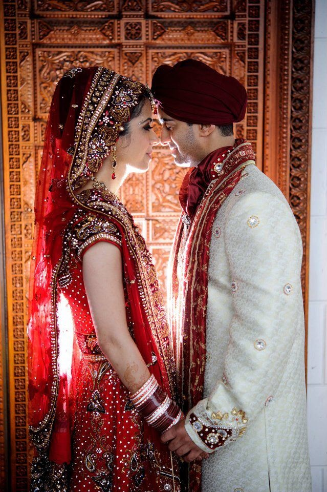 Red Lengha - Matching