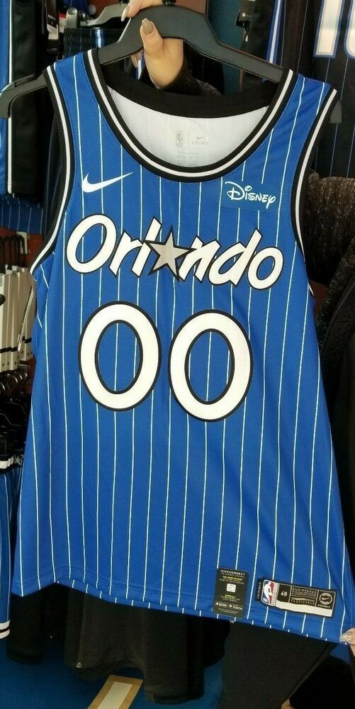 687a22cf9 eBay  Sponsored Aaron Gordon Orlando Magic Nike Classic Swingman Hardwood  Jersey Disney LargeNBA