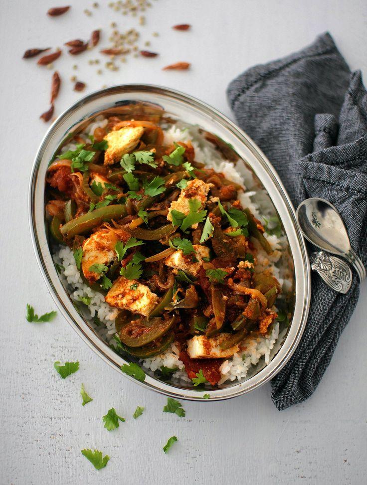 Helppo, mausteinen ja kasvispitoinen kadai on intialaisten curryjen kevyestä päästä.