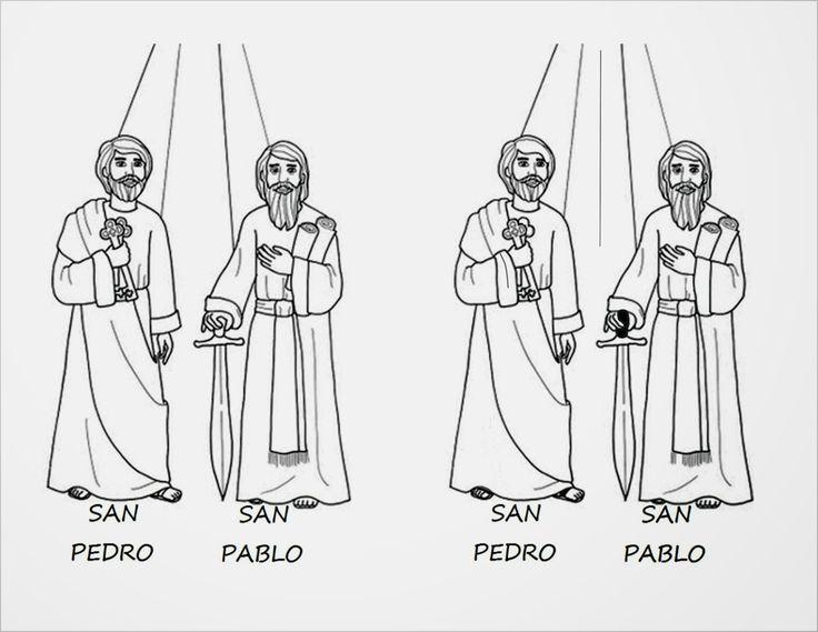 TARJETAS Y ORACIONES CATOLICAS: SAN PEDRO Y SAN PABLO