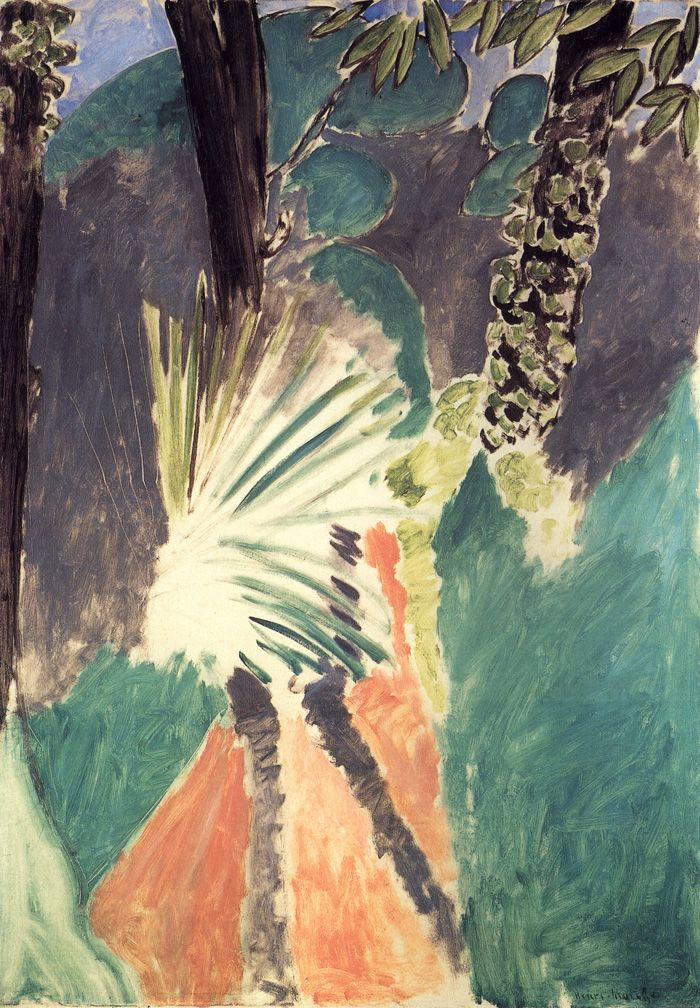Henri Matisse, The Palm, 1912,           116 x 81 cm., National Gallery of Art, Washington D.C.