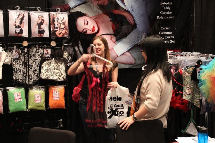 Eve's Night showcase new lingerie collection at AVN Adult Entertainment Expo