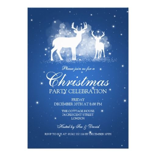 550 best Christmas Holiday Party Invitations images on Pinterest - company party invitation templates
