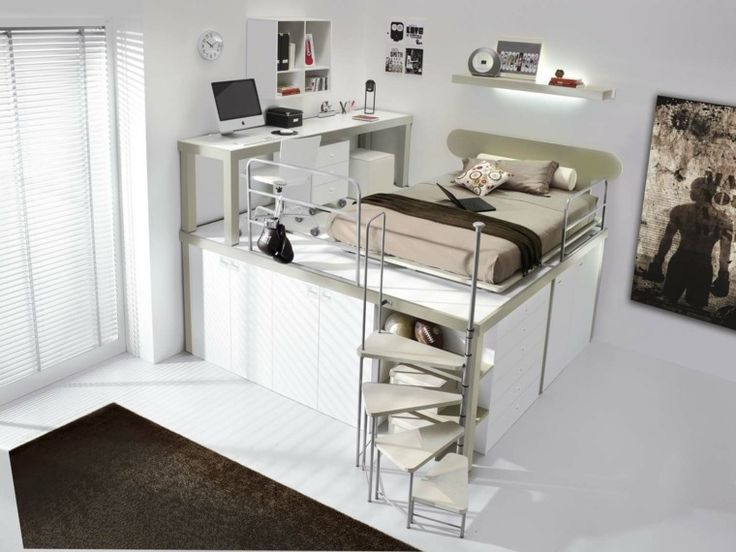 Best 25 chambre ado moderne ideas on pinterest for Chambre loft ado