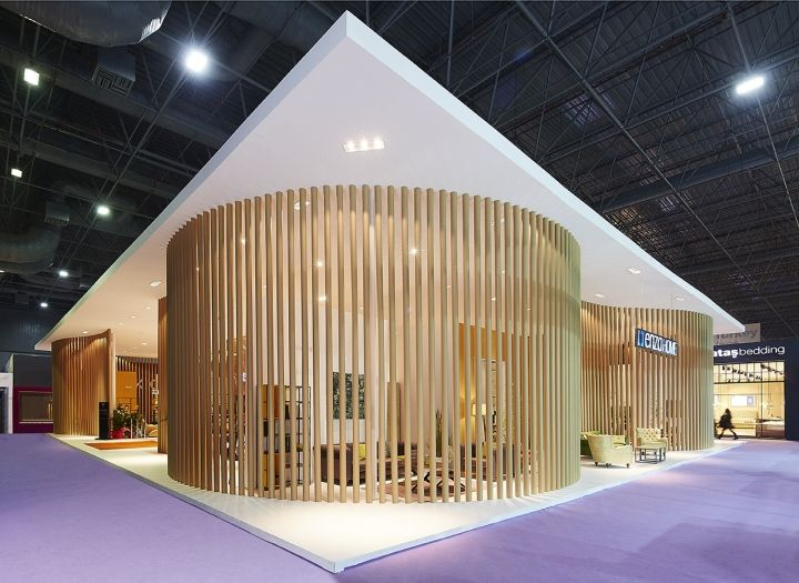 Yataş Grup Enza Home Stand by YERce Architecture at ISMOB 2015 Fair, Istanbul – Turkey » Retail Design Blog
