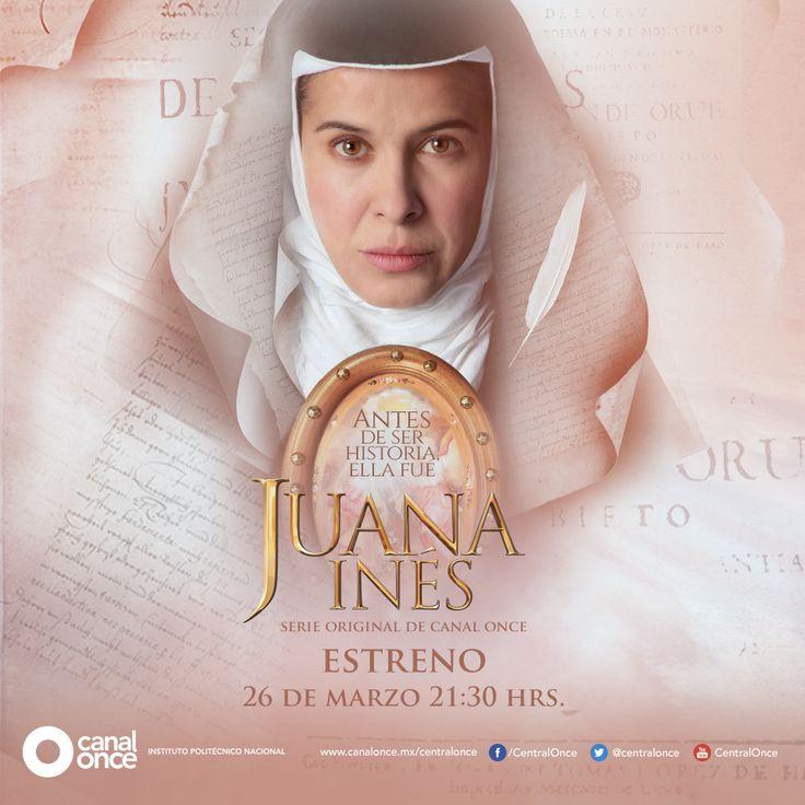 Café y cabaret te invita a ver una serie a través de Canal once, la historia de una mujer fuerte, rebelde y apasionada, Juana Inés.
