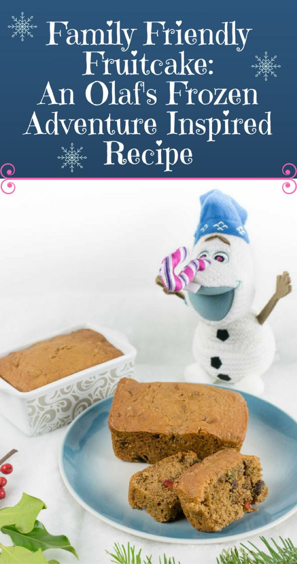 Fruitcake | Disney | Frozen | Disney Recipes | To celebrate the release of Olaf's Frozen Adventure, The Geeks have created a new recipe, their Family Friendly Fruitcake! [sponsored] 2geekswhoeat.com