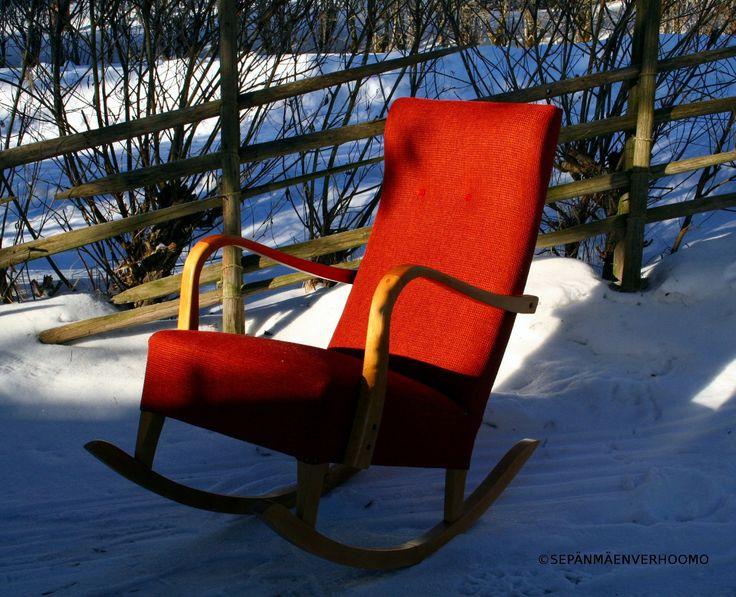 Keinutuoli. Rocking chair.