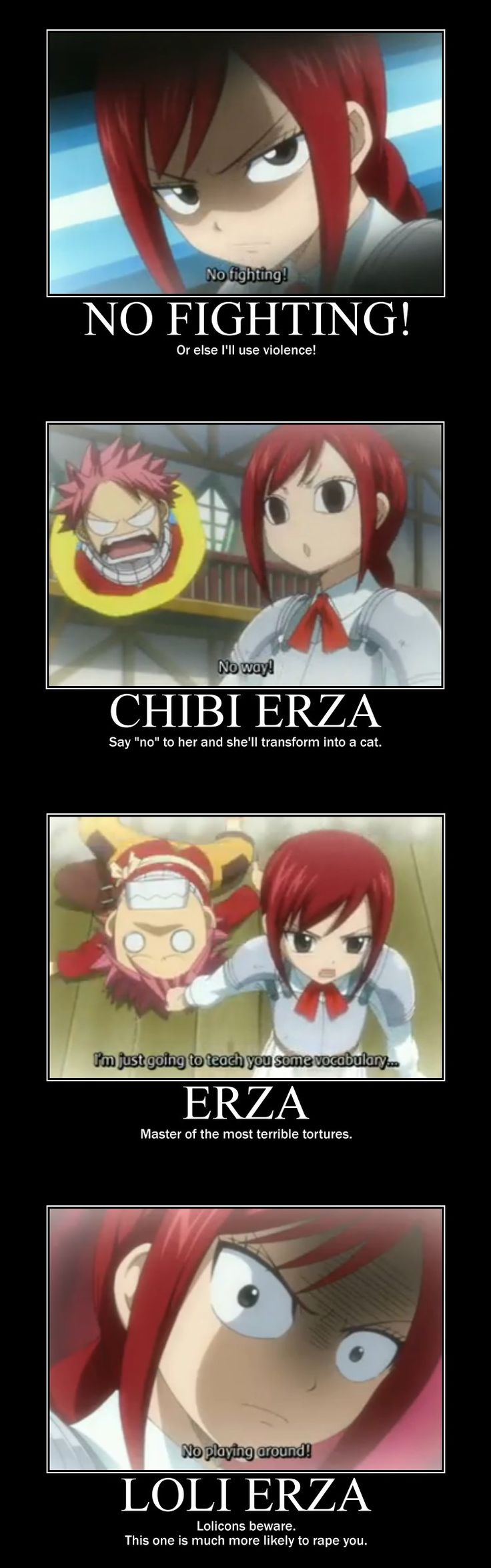 Fairy Tail Erza memes - Google Search