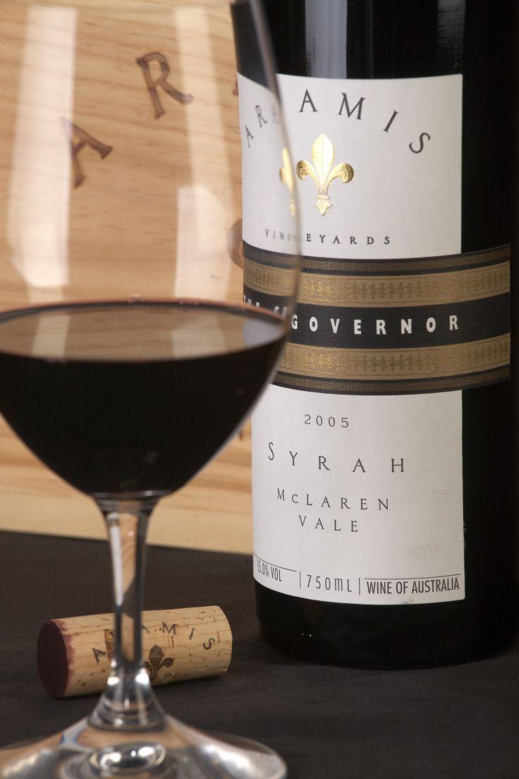 The Governor Syrah #Wine #AramisVineyards