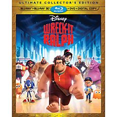 Wreck-It Ralph 3-D Blu-ray 4-Disc Combo Pack