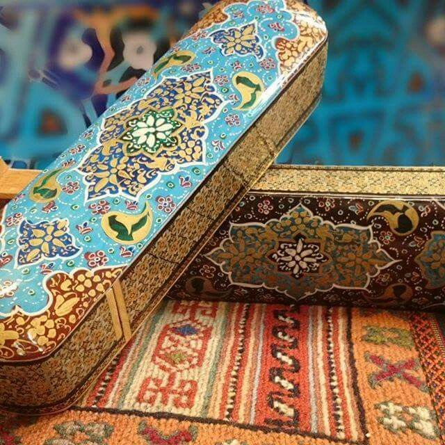 Amazing Persian Art & Handcrafts created By Takchin Art Gallery in Esfahan, IRAN