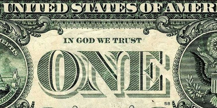 Il 22 aprile 1864 il Congresso degli Stati Uniti approvava il Coinage Act 1864, che stabilì la stampigliatura della scritta''In God we trust''