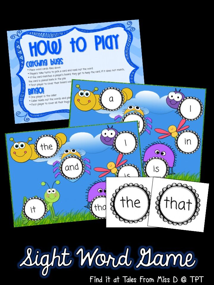 This game can be played in two ways; race to cover and bingo. Included are 6 game boards and word cards. Words covered: a, and, be, I, in, is, it, of, that, the, to, was Tips for use: * print the cover and rules back to back * print the word cards on COLOURED cardboard so the print doesn't show through the back