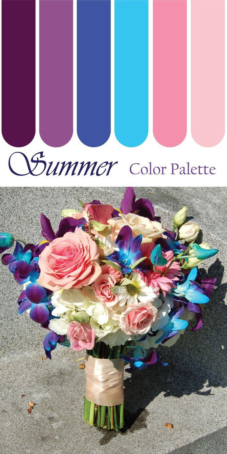Zomer bruiloft kleuren. Als u op zoek bent naar een prachtige zomer bruiloft kleuren pal …