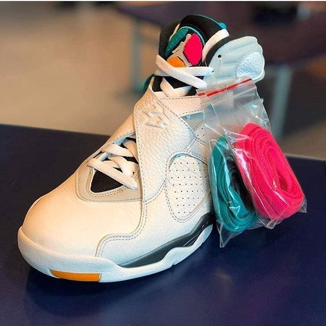 b941232f3407a Air Jordan 8 South Beach | Shoes in 2019 | Sneakers, Shoes, Jordans