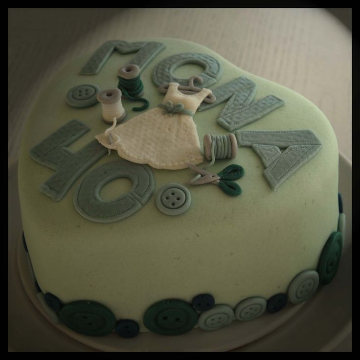 Tailor cake to my fantastic sister