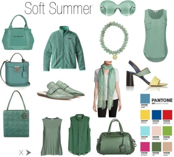 Greenery for Soft Summer