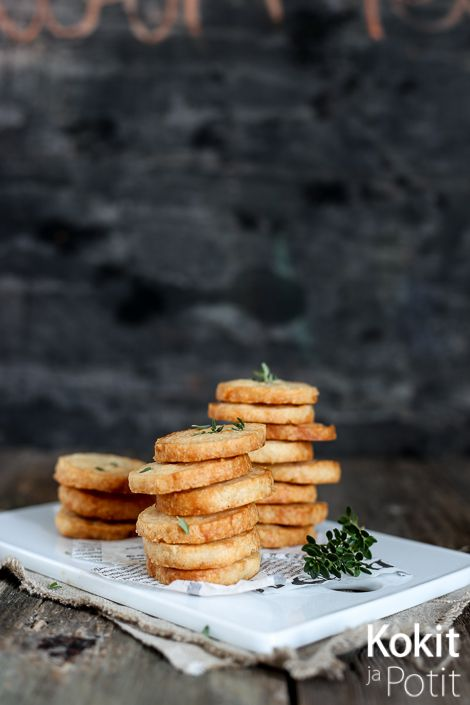 Kokit ja Potit -ruokablogi: Parmesaanikeksit