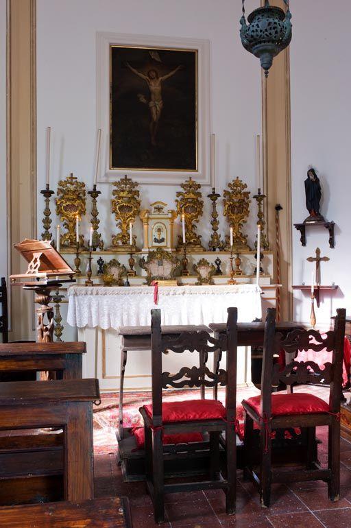 The Chapel. Relais Villa Giulia, Fano, Marche, Italy.