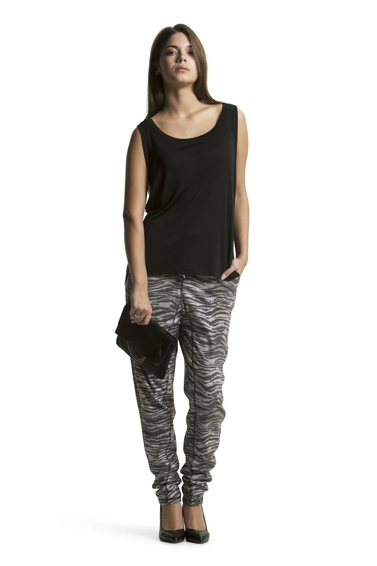 Daria Top with Delphine Jersey Pant