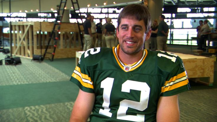 """Do you know me?""  QB Aaron Rodgers of the Green Bay Packers"
