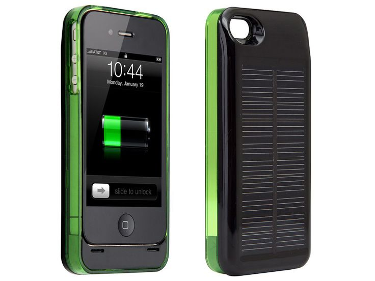 Hybrid iPhone 4/4S Solar Charger Case
