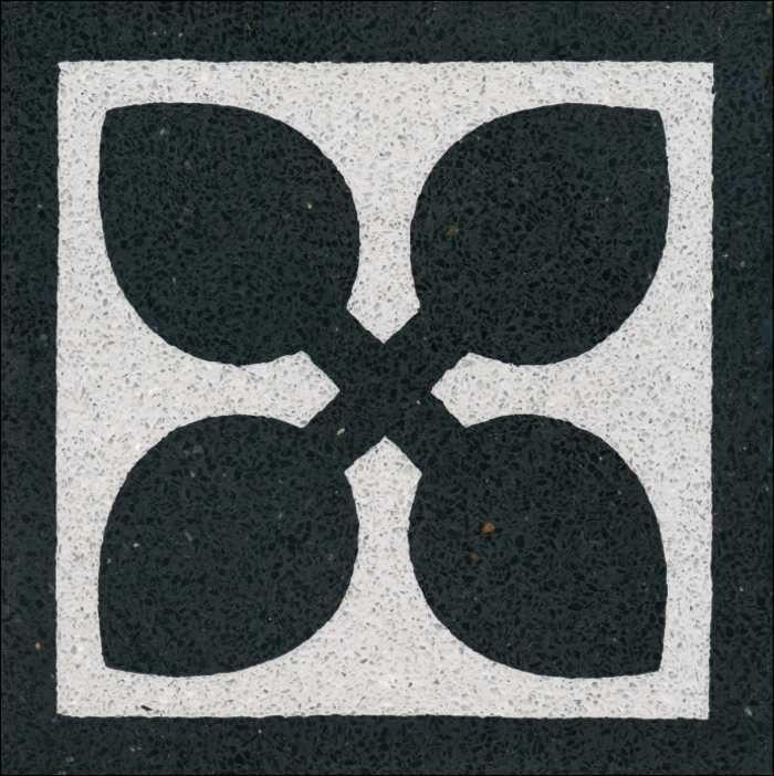 historische Terrazzoplatten