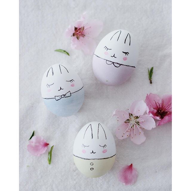 Bunny Easter Eggs DIY – bitte