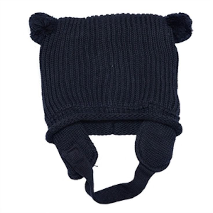 I Love You Boy Knit Beanie Navy - Hats, Caps & Beanies - Baby Belle