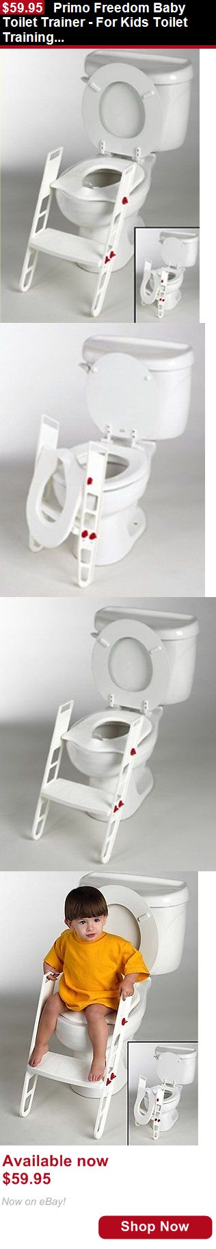 Other Baby: Primo Freedom Baby Toilet Trainer - For Kids Toilet Training Ladder Potty Seat BUY IT NOW ONLY: $59.95
