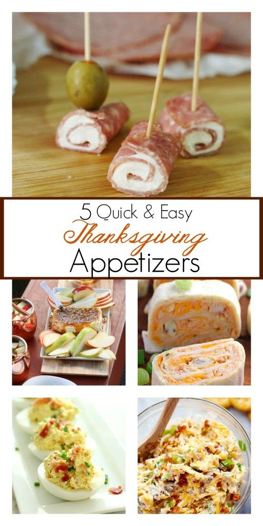 The best Thanksgiving appetizer recipes that are quick and easy to make. These 5 recipes will be great for my huge family to snack on while we wait for Thanksgiving dinner. Can't wait to try them!