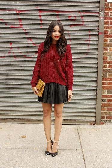 Best 25  Burgundy sweater ideas on Pinterest | Burgundy, Maroon ...
