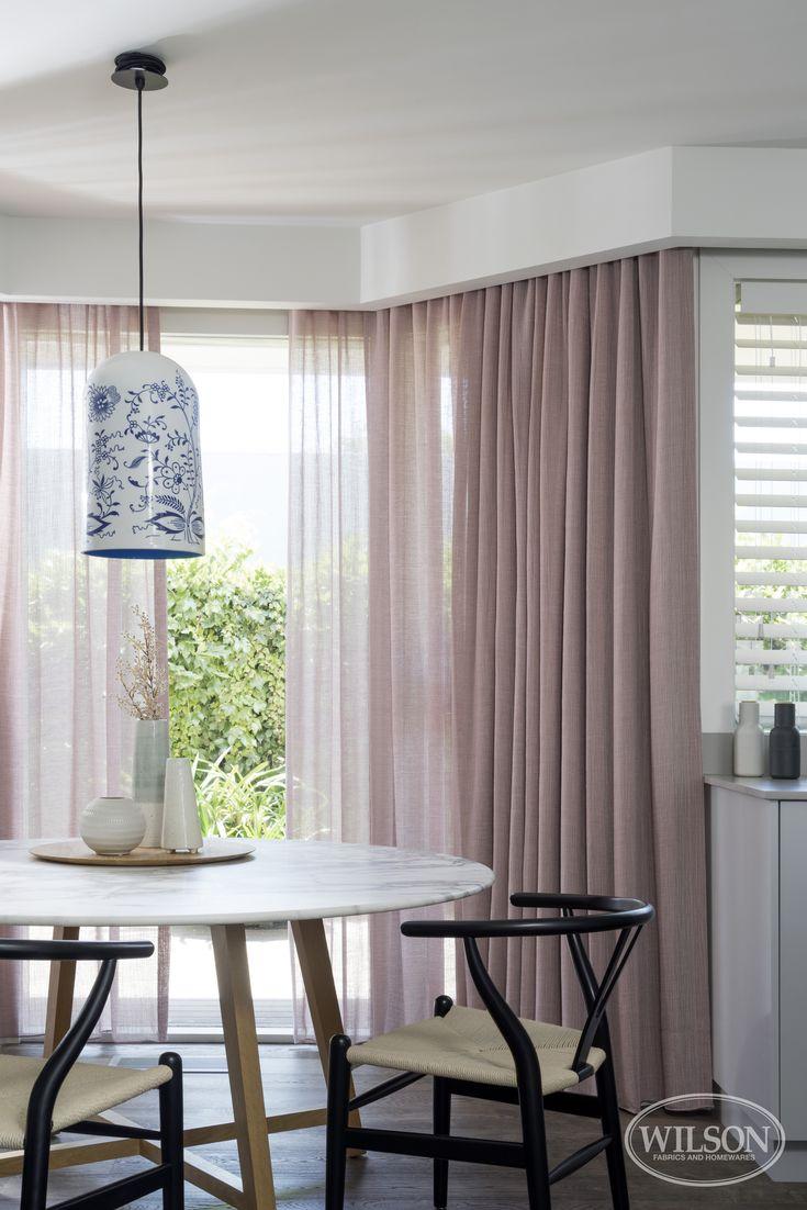 Wilson Fabrics Hepburn Sheer Sheercurtain Curtain Drapery Livingroom Diningroom