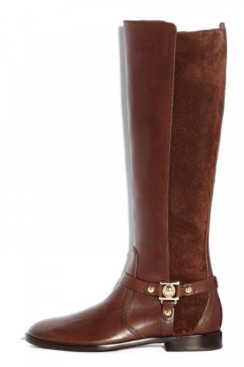 Kurt Geiger tan knee high boot