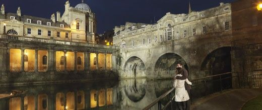 Pulteney Bridge in Bath UK
