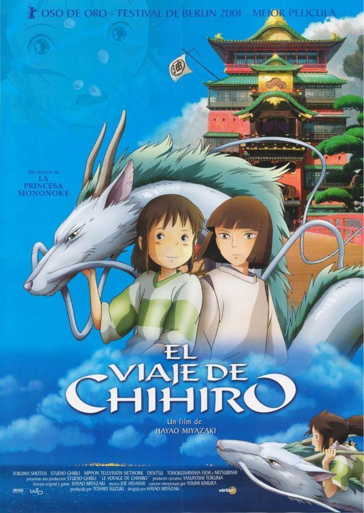 El viaje de Chihiro  #Miyazaki http://cuchurutu.blogspot.com/2014/05/felizlunes-las-peliculas-de-hayao.html