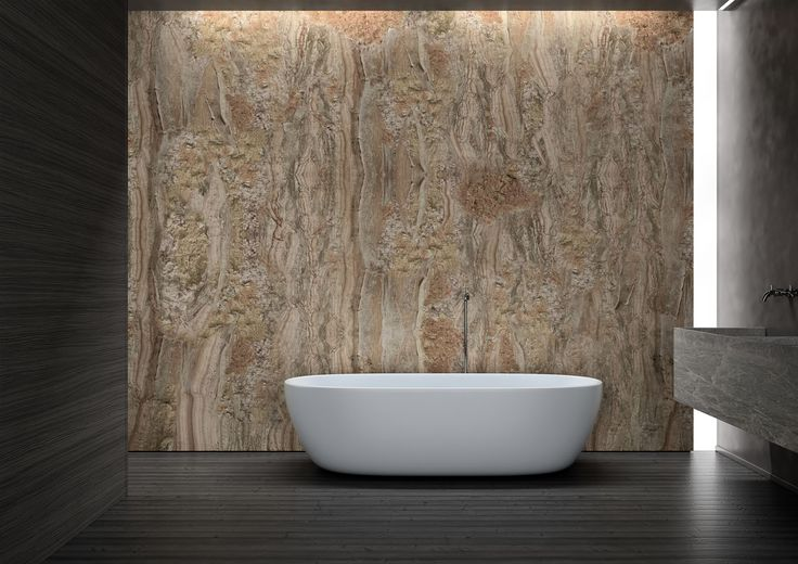 New at Alternative Bathrooms, Glamora is a revolutionary decorative concept for walls and ceilings. A fabric-like material made super-durable by a vinyl coating, it is washable, fire resistant and eco-friendly. Slight embossing gives extra visual depth and texture and brings out the patterns.  alternativebathrooms.com
