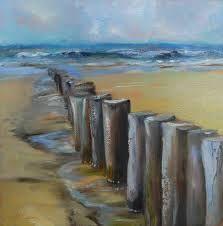 schilderij zeeland strand - Google zoeken
