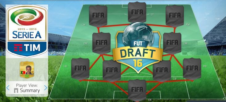 NEW FIFA 17 MOBILE FUT DRAFT IN SERIE A STYLE! (+ SERIE A PACK OPENING) FIFA 16 MOBILE IOS ANDROID - http://tickets.fifanz2015.com/new-fifa-17-mobile-fut-draft-in-serie-a-style-serie-a-pack-opening-fifa-16-mobile-ios-android/ #FIFA17