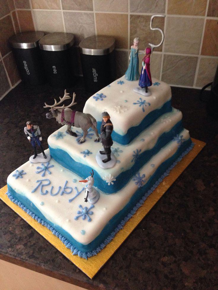 Homemade Frozen Cake