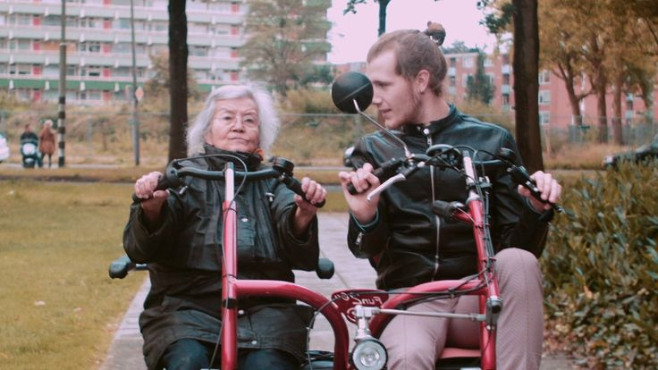 Drinking games, sex talk and jigsaws - this is life in a unique Dutch retirement home. Young and old live side-by-side sharing the joys of life, and the sadness of death, together.