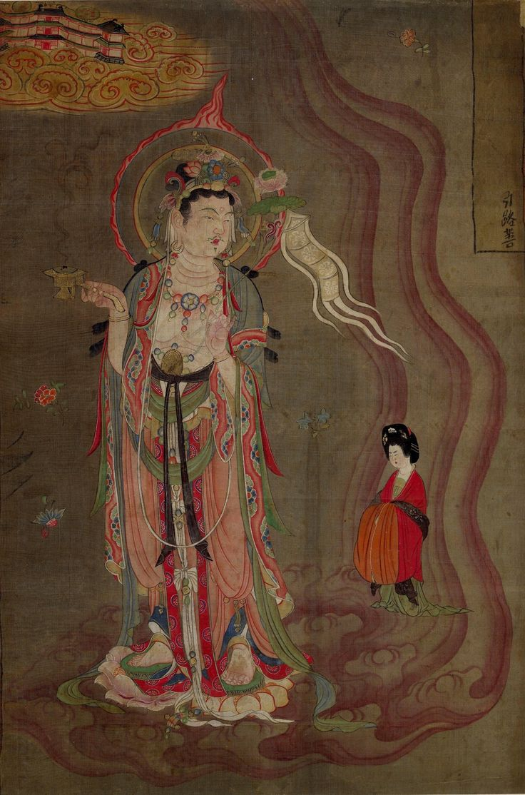 Tang Dynasty painting from Dunhuang.