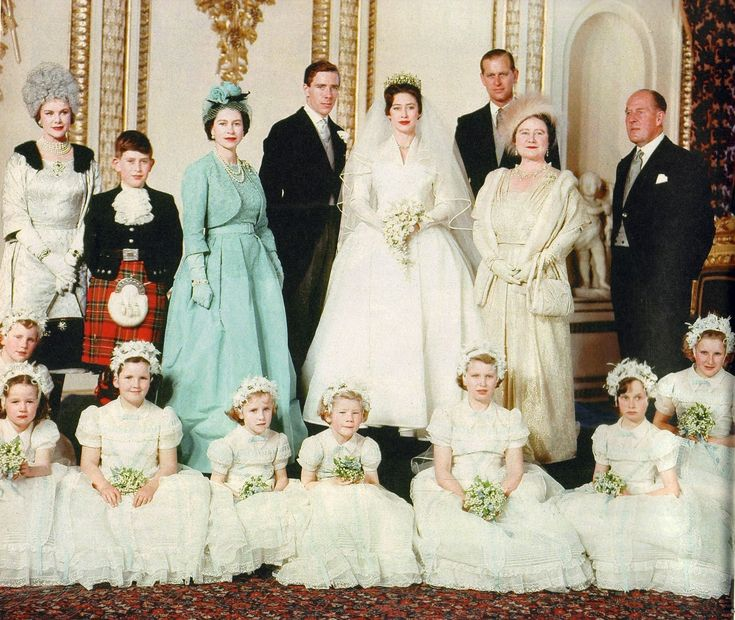 Princess Margaret and Antony Armstrong-Jones married 6 May 1960 at Westminster Abbey