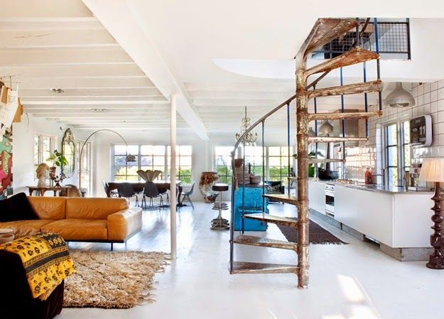 Inspiracje w moim mieszkaniu {Inspiration in my apartment}: Nowoczesny dom w klimacie etno / Modern house in a...