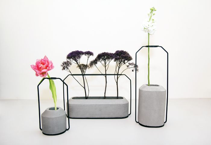 Beautiful vases. #introdesign #accessories #vases #flowers #weight #dechaarchjananun