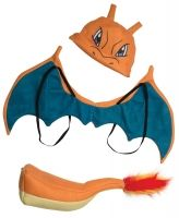 Pokemon Costume Accessory KitsGet ready for battle in one of these officially licensed Pokemon kits! Choose your favorite Pokemon from the infamous Pikachu, the original starters Bulbasaur, Squirtle and Charmander, the adorable Jigglypuff, or the awesome Charizard!